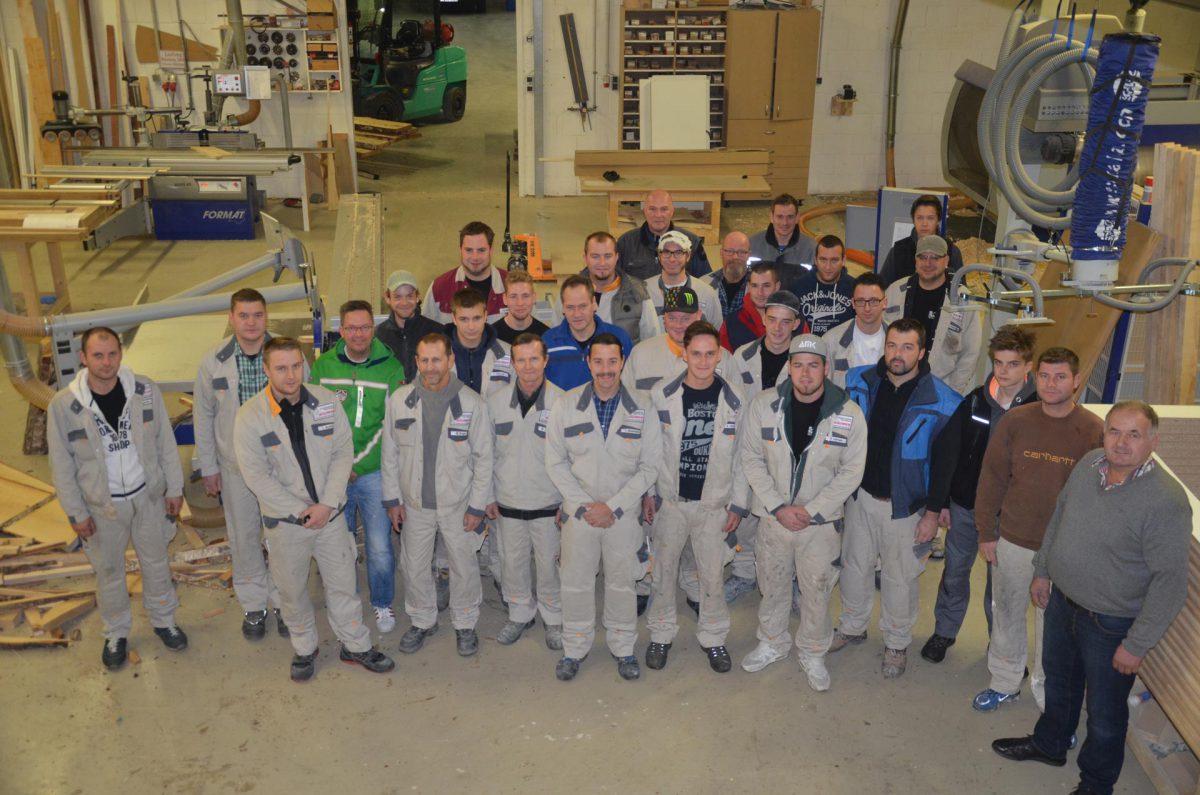 Belegschaft der Bäumer GmbH Altenberge